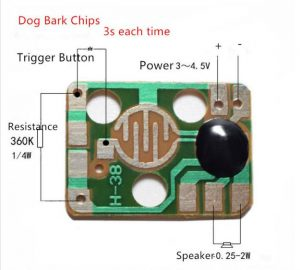 H-38 8080 sound effect chip board pinout