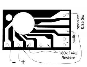 H-83A 8081 sound effect chip board pinout