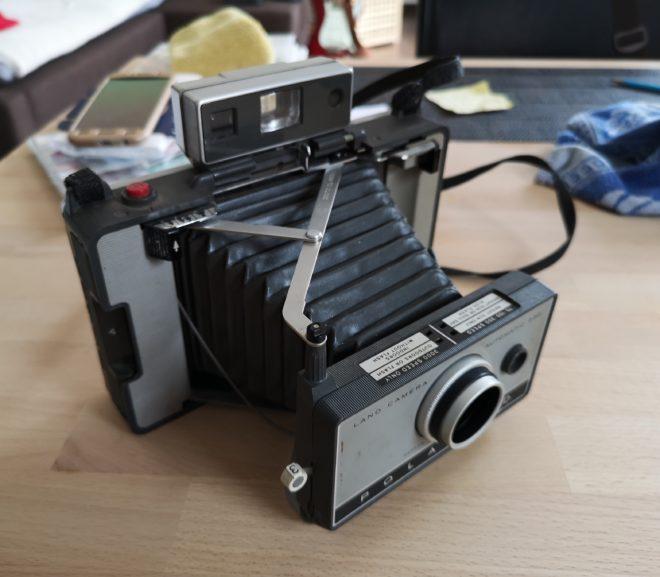 1967/1969 Polaroid instant camera
